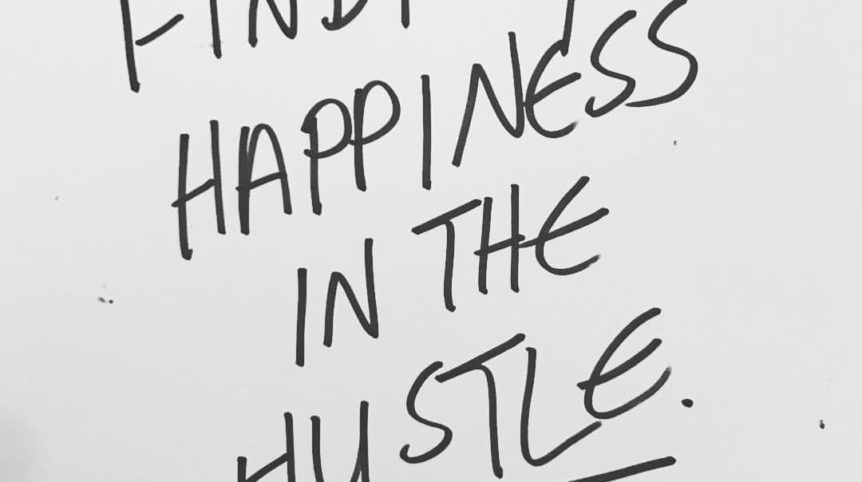 Happiness in the Hustle Lauren Trlin