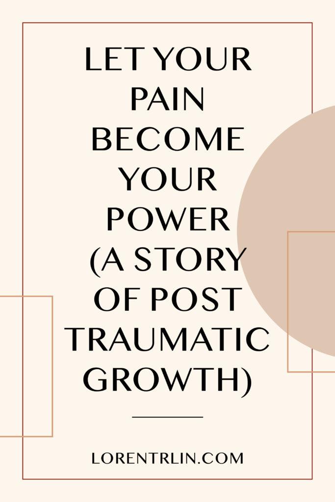 Loren Trlin - Business Coach - Pain Becomes Your Power